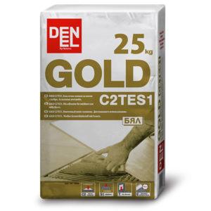 Лепило за плочи външна употреба с фибри GOLD C2TES1