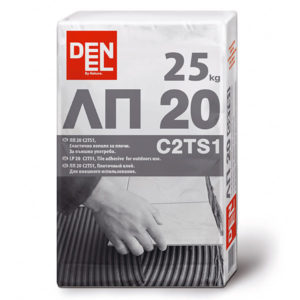 Лепило за плочи външна употреба ЛП20 C2TS1