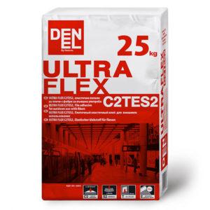 Еластично лепило за плочки ULTRA FLEX C2TES2